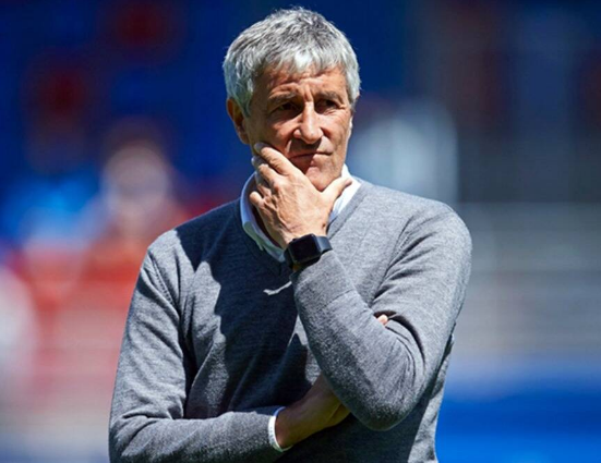 Barcelona Fired Manager Quique Setién Who Lost Embarrassing 2-8