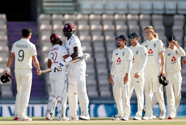West Indies Beat England in Fourth Place to Lead the 3-Match Series 1-0