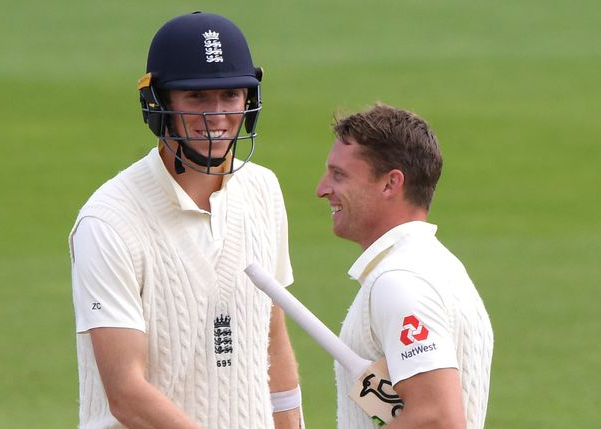 Zak Crawley and Jos Buttler Scored 583-8 on the Third Day